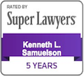 Super Lawyers - Kenneth Samuelson
