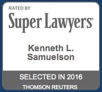 SuperLawyers - Kenneth Samuelson